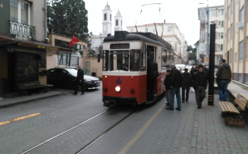 Moda Kadıköy Tramvay'ı   Saat 13:55
