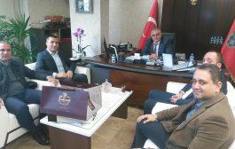 Kadıköy Tarihi Çarşı Derneği'nden Kadıköy İlçe Emniyet Müdürü'ne ziyaret
