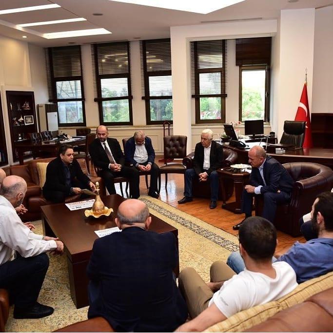 Kadıköy Esnaf Meclisi , Başkan Aykurt Nuhoğlu ile ilk tanışma toplantısını yaptı