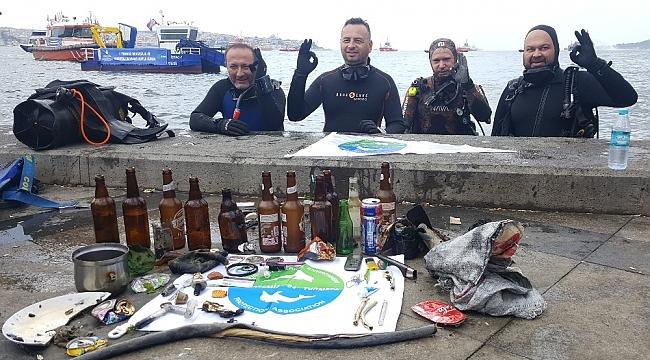 Turmepa, 1 Temmuz'da Deniz Dibi Temizliği Yaptı