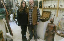 Moda'da Şaman Timuçin Çakaloz'un Heykel ve Resim Atölyesi