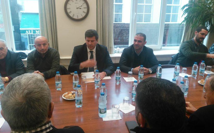 CHP Kadıköy İlçe Başkanlığı, Kadıköy Belediyesi Başkan Aday Adaylarından  Av. Şerdil Dara Odabaşı'nın Kadıköy Tarihi Çarşı Ziyareti