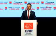 Chp, İstanbul Adayını Tanıttı
