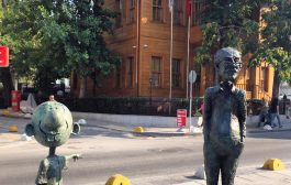 Avanak Abdi Heykelini Çalan Kişinin 10 Yıla Kadar Hapsi İstendi