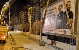 Kadıköy Belediyesi'nden 'Billboard' Tepkisi