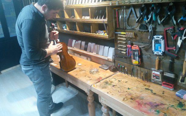 Esfen Diyar Şahbazi, dünyaca ünlü virtüözlere  El Yapımı Kemanlar