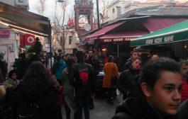 Kadıköy Tarihi Çarşı'da Cumartesi günü hareketli saatler