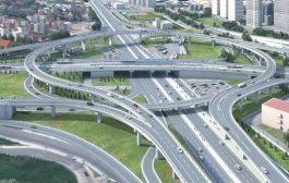 Kadıköy Fikirtepe'de , 874 Metre Uzunluğunda Kavşak Viyadüğü Yapılıyor