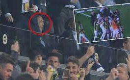 90+6'da Herkes Gole Sevinirken, Ali Koç'un O Hali Gözlerden Kaçmadı