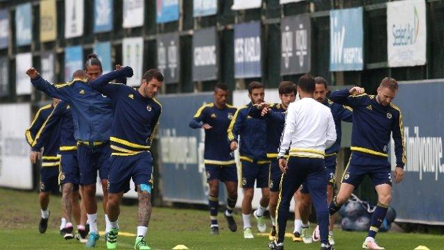 Fenerbahçe , Galatasaray maçı hazırlıklarını sürdürürüyor