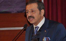 Türkiye Odalar ve Borsalar Birliği (TOBB) Başkanı Rifat Hisarcıklıoğlu: Türkiye ile Rusya arasındaki ilişkilerden çok memnunuz