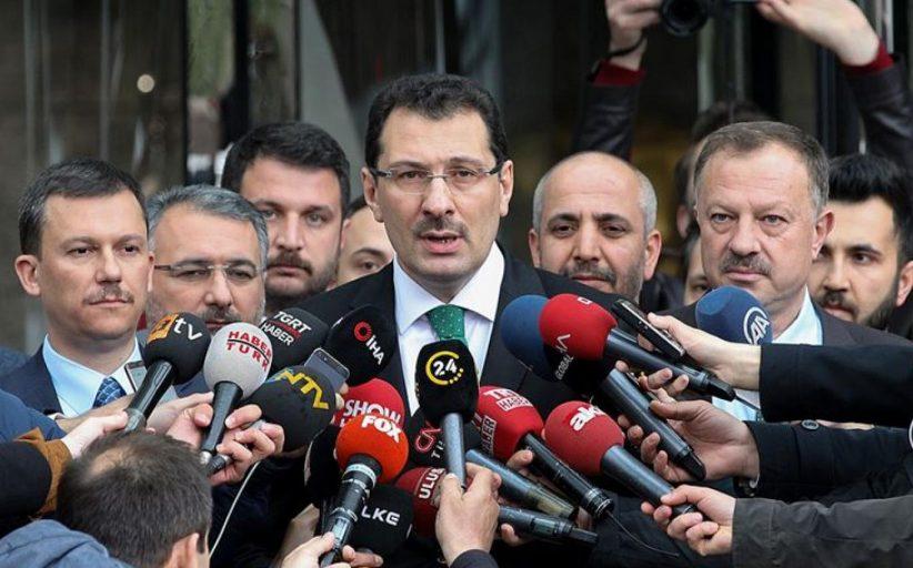 AK Parti, İstanbul seçiminin iptali için YSK'ya KHK ile ihraç edilenlerin listesini sundu