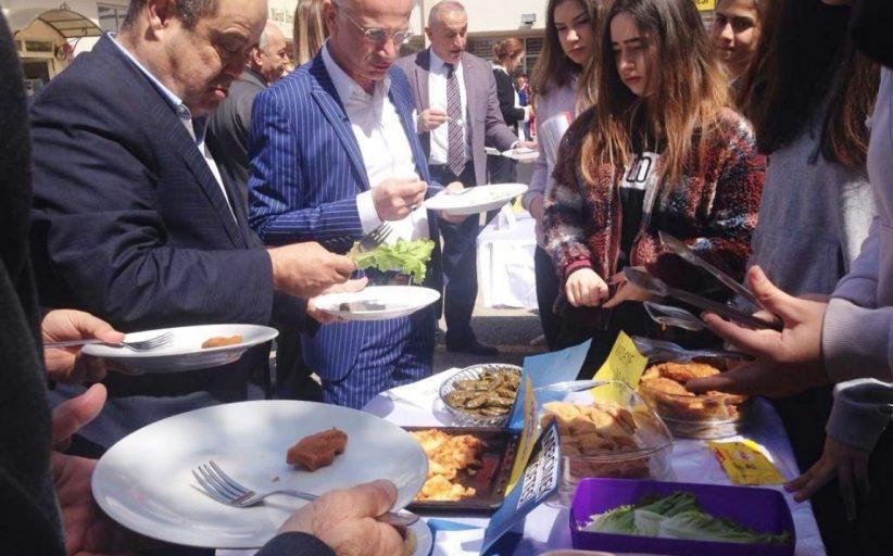 İstanbul Kadıköy Lisesi'nde yöresel tatlar ve lezzetler