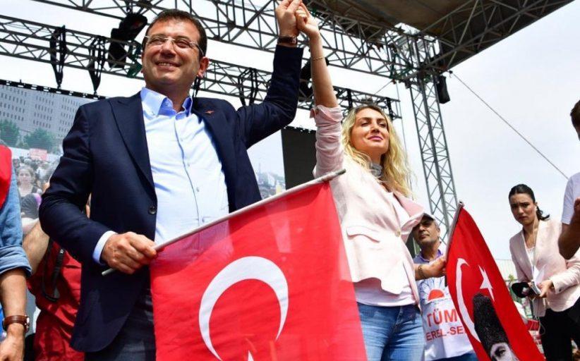 İstanbul  1 Mayıs'ı kutladı