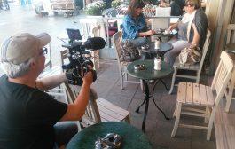 Fransız ARTE Televizyon Kanalı'nın Kadıköy Tarihi Çarşı'da Türk Kahvesi Belgeseli Çekimi