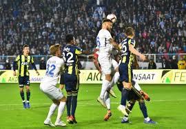Erzurumspor : 0 – Fenerbahçe : 1
