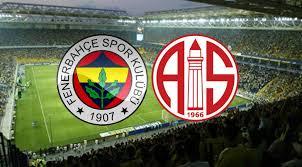 Fenerbahçe ile Antalyaspor 45.ci randevuda