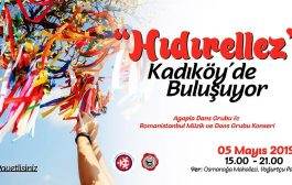 Kadıköy Yoğurtçu Parkında 5 Mayıs Pazar günü Hıdırellez Şenliği