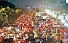 Dünya Trafik Sıkışıklığı Endeksi : Mumbai 1.,  İstanbul 6. sırada