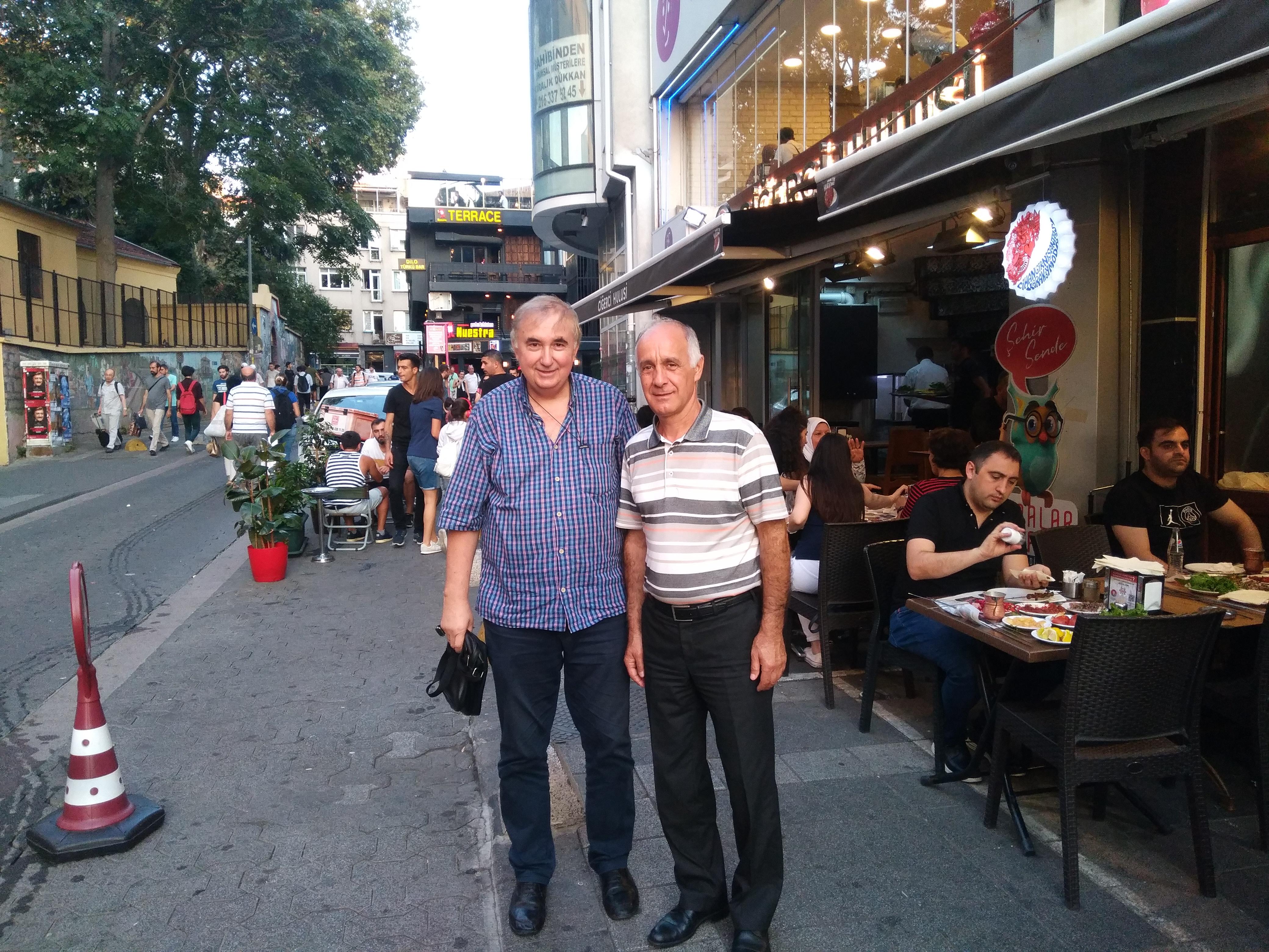 Tarihi Çarşılar Federasyonu Başkanı Muhsin Özyıldırım'ın Kadıköy Tarihi Çarşısına ziyareti