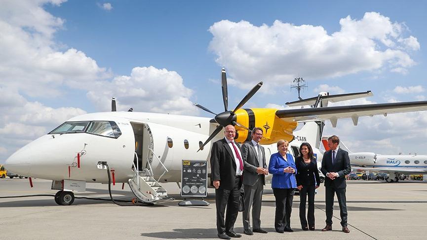 Türkiye'nin yerli uçağı Alman oldu!