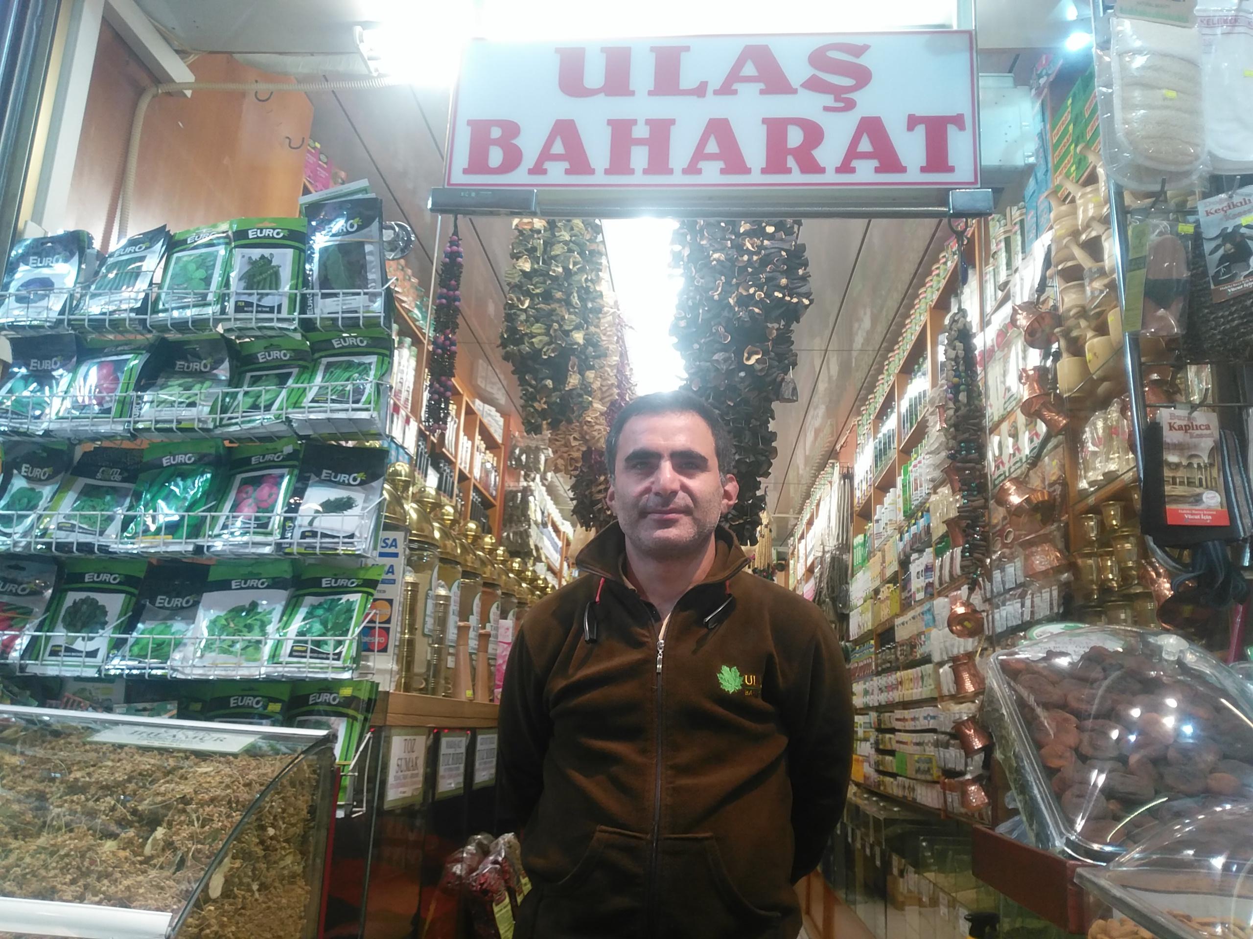 Ulaş Baharat , 5000 ürün çeşidi ile 70 yıllık işletme