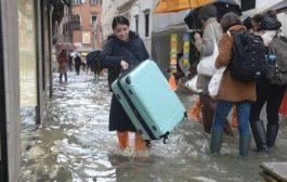 Venedik'te su baskınlarının faturası yaklaşık 1 Milyar Euro