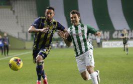 Konyaspor: 1 – Fenerbahçe: 0