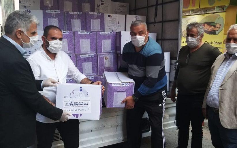 İBB 'den Kadıköy Tarihi Çarşı ve Moda Çevresi esnaf çalışanlarına erzak yardımı