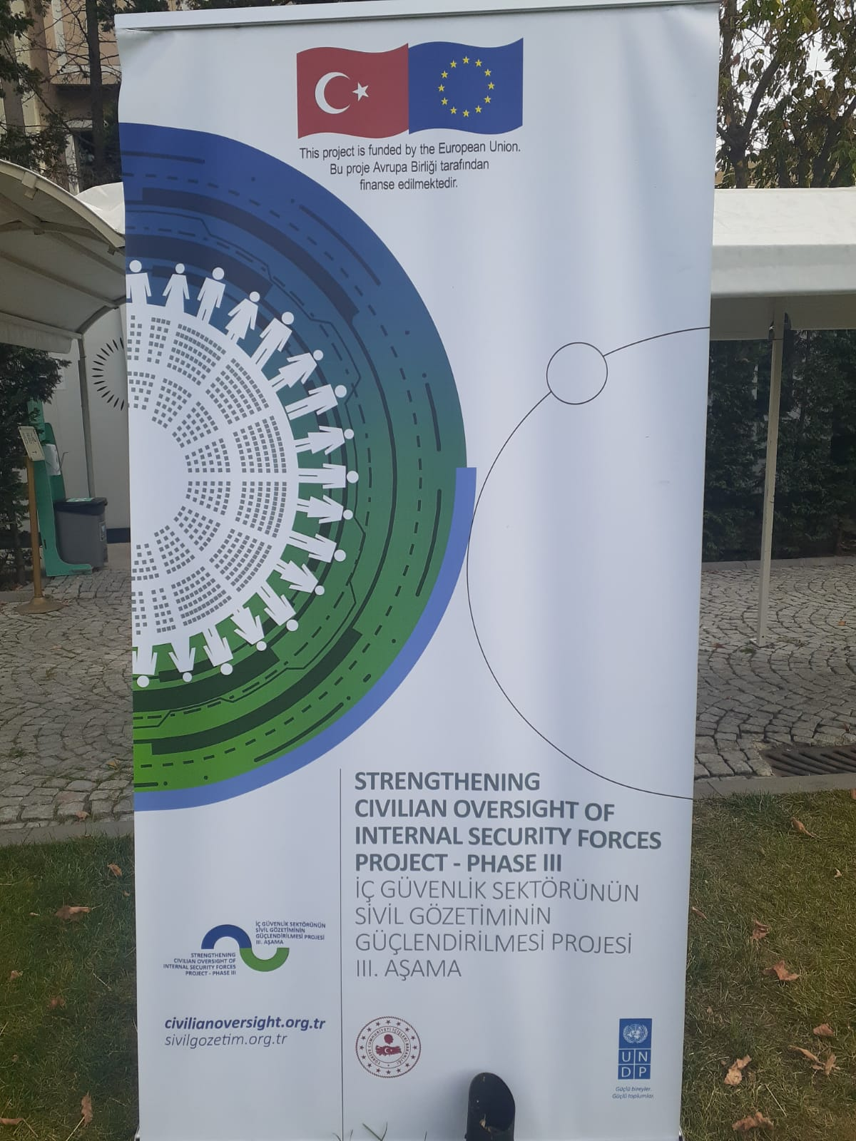 Kadıköy Tarihi Çarşısı Derneği , Avrupa Birliği tarafından finanse edilen , iç güvenlik sektörünün sivil gözetiminin güçlendirilmesi projesi 3.cü aşaması çalıştayına katıldı