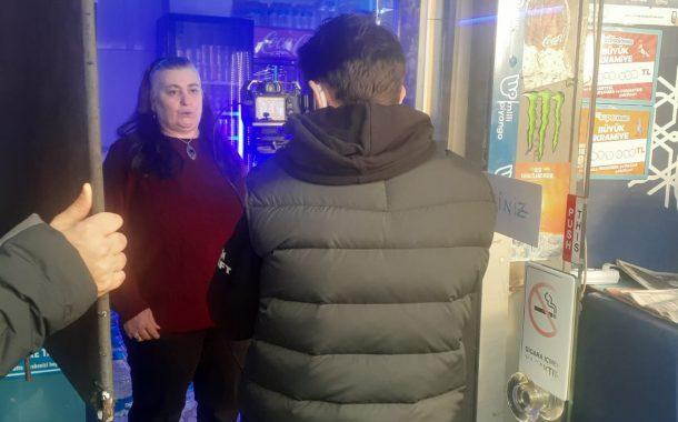 Efes Pilsen için, Kadıköy Tarihi Çarşı'da reklam filmi çekimi